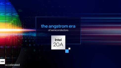 「Intel 20A」は0.1nmに当たるオングストローム世代に入る