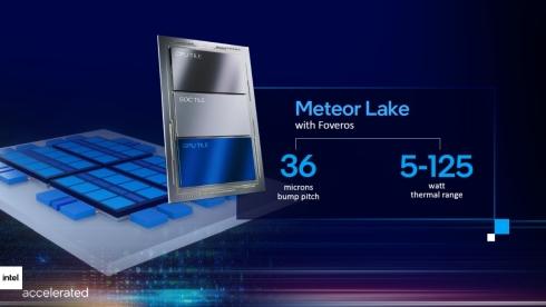 「Meteor Lake」では「EMIB」と「Foveros」をフル活用する