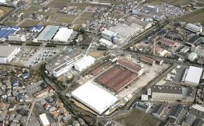 住友ゴム工業の加古川工場の外観