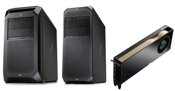 「NVIDIA RTX A6000」を搭載したHP製ワークステーション