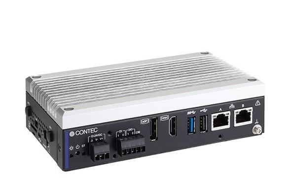 産業用エッジAIコンピュータ「DX-U1200-3E0211」(クリックで拡大) 出典:コンテック