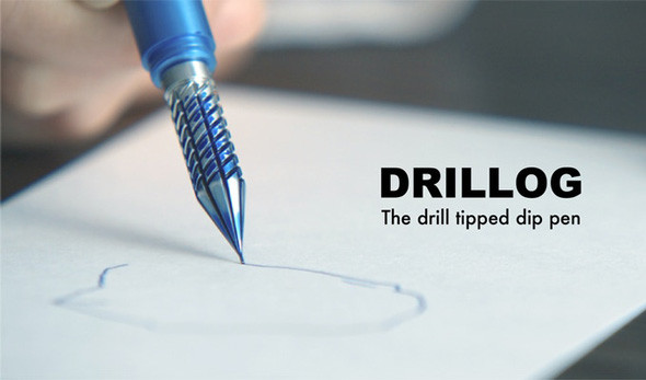 付けペン「DRILLOG」