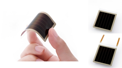 リコーと九州大学が共同開発した有機薄膜太陽電池