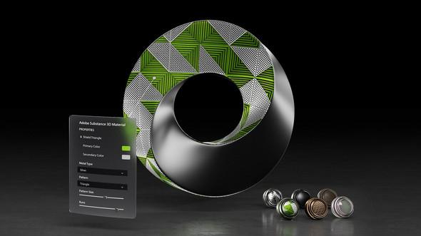 シミュレーション、コラボレーションプラットフォーム「NVIDIA Omniverse」のイメージ
