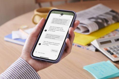 「Yohanaアプリ」を使って、「Yoアシスタント」とチャットで連絡を取り合う