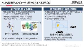 NISQ型量子コンピュータで期待されるアルゴリズム