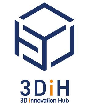 「3D innovation Hub」ロゴ