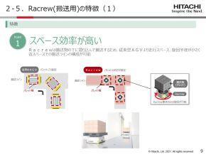 「Racrew」の特徴