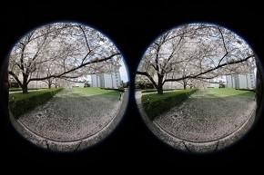 2つの魚眼レンズによる撮影イメージ