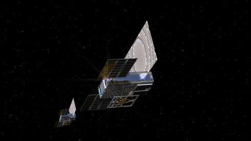 2018年に打ち上げられたNASAの「MarCO」