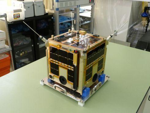 アクセルスペースの超小型衛星「WNISAT-1」