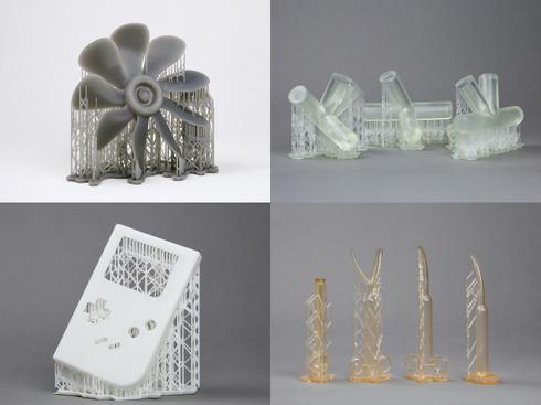 3Dプリントサービスの作品例