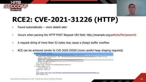CVE-2021-31226の脆弱性