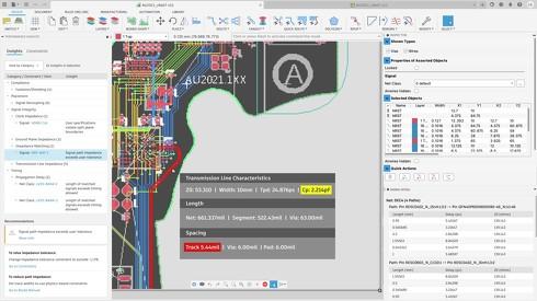 「Autodesk Fusion 360」によるPCB設計の画面イメージ
