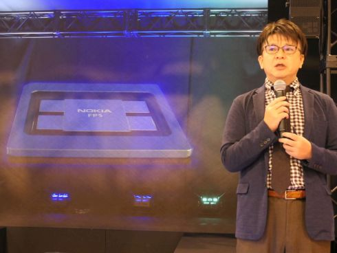 最新ネットワークプロセッサ「FP5」とノキアソリューションズ&ネットワークスの鹿志村康生氏