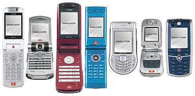 ボーダフォン、3Gに本腰~7機種...