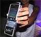 友達と音楽を共有──NokiaのHDD入り音楽ケータイ「N91」