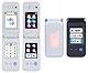 キーボードはタッチパネル──ドコモと三菱、2画面携帯を試作