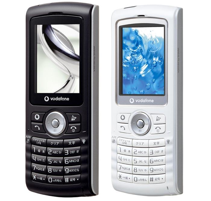 ストレート型のプリペイド携帯「V201SH」、店頭に並ぶ - ITmedia Mobile