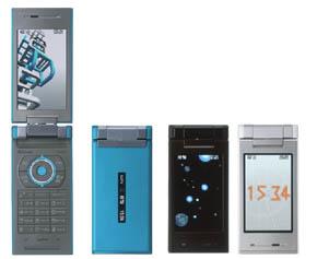 IPS液晶搭載のワンセグ携帯「W52...