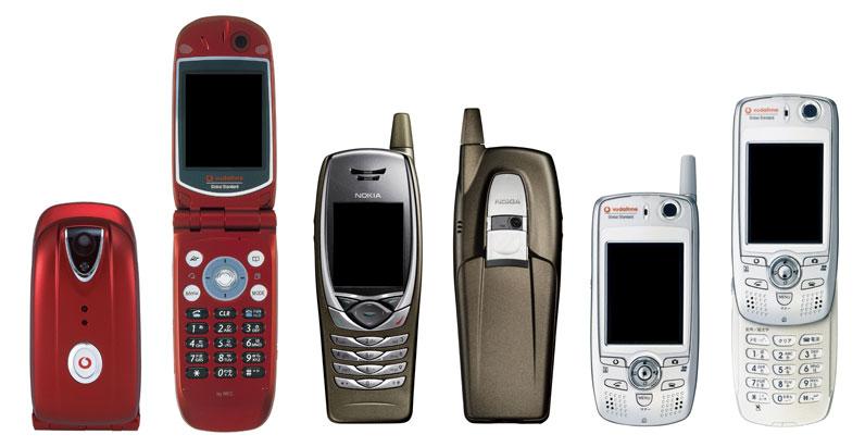 3G導入初期の3機種、2008年以降の利用が不可能に──ソフトバンクモバイル