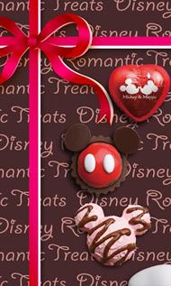 バレンタインデーに合わせてandroid向けライブ壁紙ディズニーチョコ