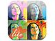 100以上のアートエフェクトを搭載した顔写真専用アプリ「100face lite」