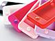 エレコム、女性に人気のペールトーンを取り入れたiPhone 4/4S専用シリコンケース