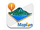 App Town ナビゲーション:地図をサクサク表示——マピオン、iPhone向け「地図マピオン」を配信