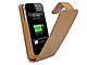 マグレックス、iPhone4/4S専用の予備バッテリー搭載スネークレザーケースを発売