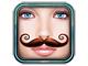 リアルなヒゲを顔写真に付けて動かせるアプリ「ヒゲブース」