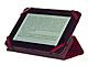 回転機構で縦・横自在のスタンドにも 「Kindle Fire」専用ブック型ケース