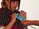 ワイヤレスジャパン2013:「メイドさんにたっちなう」──NFC対応スマホがあればできるぞ! あんなことやこんなこと!