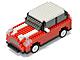 自分で組み立てるブロック式ラジコンカーシリーズにミニ型が登場——日本トラストから
