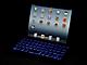 暗闇で文字が光るiPad mini用ワイヤレスキーボード発売