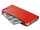 プレアデス、iPhone 5向けカードポケット付き薄型レザーフォリオケース