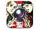 コミック中の名シーンを再現できるiPhone向けアプリ「聖おにいさん下界カメラ」