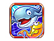 端末を傾けておさかなを撃退! 海中サバイバルゲームアプリ「おさかなエボリューション!」