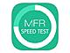 iOS 7対応の回線速度チェッカー「MFR回線速度測定」アプリ——結果はランキングやSNSで共有可能