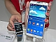 CEATEC JAPAN 2013:NTTドコモブースのGALAXY Note 3&GearでLINEを使う