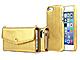 ロア、高級感あふれるゴールドカラーのiPhone 5/5s向けレザーケース2種を発売