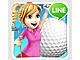 3D表現の美しいコースで手軽に楽しめる「LINE レッツ!ゴルフ」公開