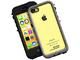 端末カラーを楽しめるクリア仕様のiPhone 5c向け防水・防塵・耐衝撃ケース