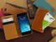 スペック、2枚のカードを使い分けられるiPhone 5s/5向け手帳型レザーケース