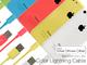 iPhone 5cと同カラーを取りそろえた5色のApple公認Lightningケーブルが登場