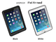 FOX�A���ڃX�N���[���𑀍�ł���ϏՌ��P�[�X�uLIFEPROOF iPad Air case - nuud�v