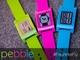 Pebble、ピンク、緑、青の蛍光カラーモデルを個数限定発売