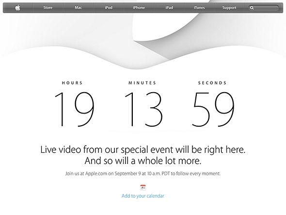 Apple公式中継