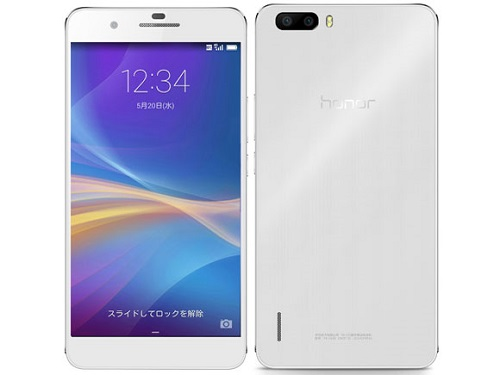 Huawei製「honor6 Plus」