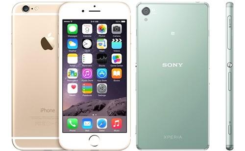 iPhoneシリーズとXperiaシリーズがやはり人気